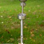 Edelstahlbrennerei - Edelstahldestille mit Druckwasserbad und Rohrbündelkühler - Detailansicht Vorlage (© Raven Metall Design)