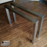 Edelstahlmöbel - Tischgestell aus Edelstahl (© Raven Metall Design)