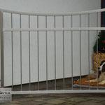 Edelstahltor - Gartentor aus Edelstahl (© Raven Metall Design)