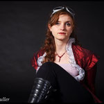 Reginald Muller - Portrait Nathalie Bertrand - steampunk