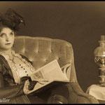 Reginald Muller - Portrait Nathalie Bertrand - steampunk