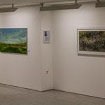 Bilder von Georg Janthur und Frank Hinrichs, in der Ausstellung in der Stadtscheune.