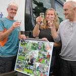 Ursula und Holger vielen Dank für die tolle Überraschung, eine Erinnerung an die letzten 12 Jahre Hundesport