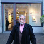 На открытии персональной выставки в Галерее Гмуржинска в Цюрихе, 2006