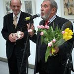 На открытии персональной выставки в Новом Манеже, 2007