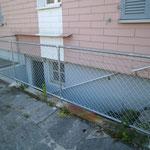 Schutzgeländer / Schutzzaun Treppenabgang