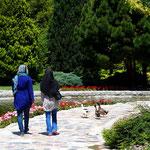 in einem von Isfahans Gärten