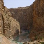 und wahnsinnige Canyons.