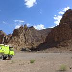Wüste vor Yazd