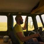 Unser Truck Driver... immer entspannt.