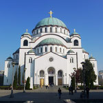 Belgrade has one of the biggest orthodox churches in the world
