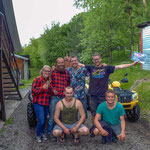 4 wheelers with the weltreise-wg in Tscheremschanka