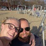 In Belgrad hatten wir im November 22°C