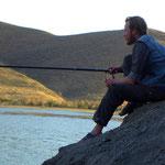 dann wollen wir auch angeln.