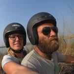 Wir lieben diese Freiheit auf dem Motorrad