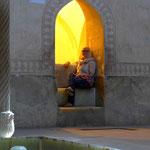 In der Zitadelle von Shiraz. Hier hat einst der Schah gebadet.