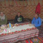 We enjoyed the stay in the jurt.