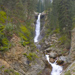 Barskoon waterfalls