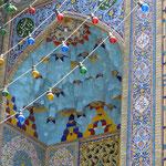 Typischer Hauseingang in Shiraz