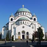 Belgrad hat eine der größten orthodoxen Kirchen der Welt