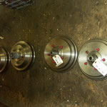 New hub and drum assemblies