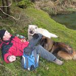 Tim mit Ted und Amurak