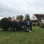 Gruppenfoto bei Roland