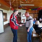 Volker Hain ist 10 Jahre im Verein2011