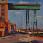 "'The Granary', Wells-next-the-Sea. 18"" x 14"". Oil on panel. SOLD"