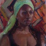 """'Zingi', Oil on panel 18"""" x 14"""""""