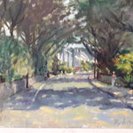 "Under the Avenue to Kelly's, Rosslare. 14"" x 18"""