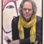 "Artist, Mick Mulcahy. Oil on Canvas. 36"" x 24"""