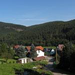 Blick in den Thüringer Wald