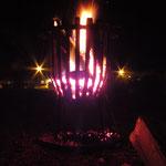 Das obligatorische Feuerchen