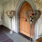 Kirchendekoration Hochzeit Bluama Hüsli Bad Ragaz