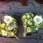 Hochzeitsgesteck Herz Bluama Hüsli Bad Ragaz