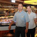 Yuping Yan und Caimei Yan Wu, Chinarestaurant Fudu und Hotel Danner