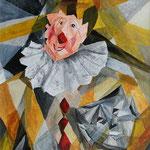 Maskenlos, Acryl, 30 x 40 cm