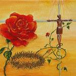 Erlösende Liebe, Acryl auf LW, 50 x 40 cm