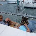 meine erste Bootsfahrt
