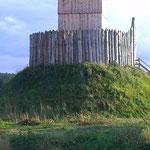 mit dem Wehrturm
