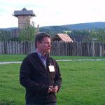 Dr. Benjamin Zeitler dem Leiter des Parks