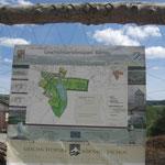 Der Plan des Parks