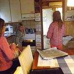 in der Küche bei Annas Eltern
