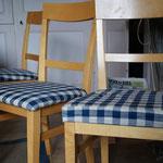 housses de chaise tissus