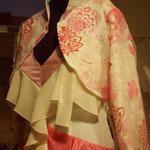 Bolero et robe de mariée
