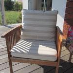 coussins fauteuils de jardin
