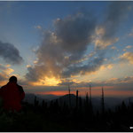 Sonnenuntergang am Sonntagsmauer/Feichtau