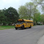 School Bus on 25th. Ave South, Minnapolis
