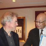 Maestro Osmo Vanska and Mr. Yamashita